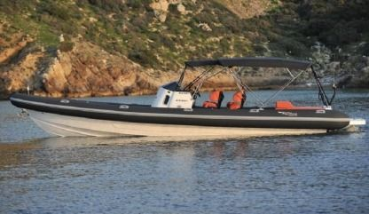 Charter RIB Ribcon Scorpion Open Sea Antiparos
