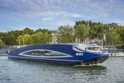 Location Péniche Vedette Custom Paris