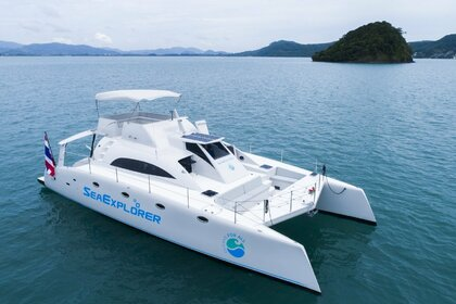 Rental Motor yacht Asia Catamarans Stealth 47 Chalong