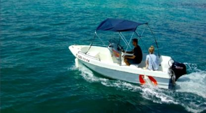 Rental Motorboat Dipoll Princess Benidorm