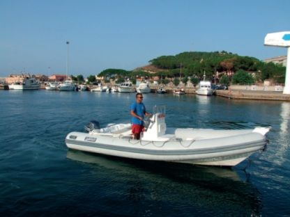 Charter RIB Sea Water Flamar 550 Arbatax