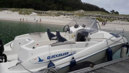 Rental Motorboat Quicksilver 635 Vigo