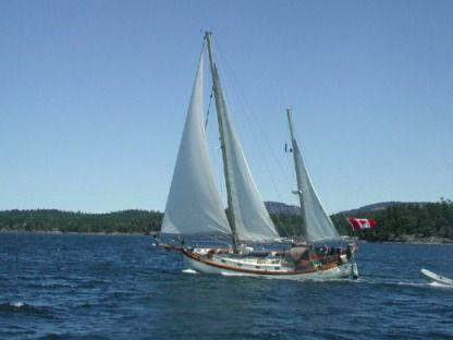 Rental Sailboat Hans Christian 43Ft Hans Christian Traditional Ketch Oxnard