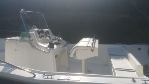 Motorboat Kelt White  Shark 205 for hire