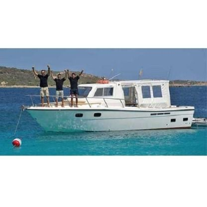 Rental Motorboat Ocean Ways 10 Metri Palau