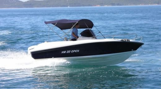 Motorboat INSIDIAS HM FLY 22 OPEN for hire