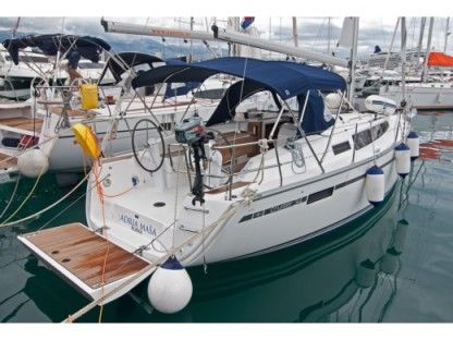 Charter Sailboat Bavaria Cruiser 34 Split