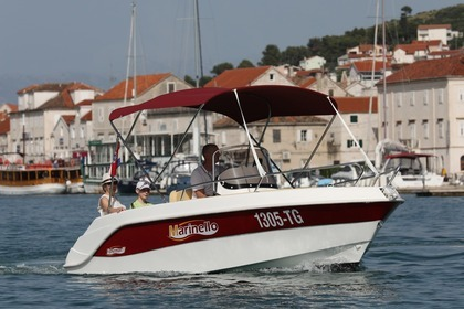 Rental Motorboat Marinello Fisherman 17 Trogir