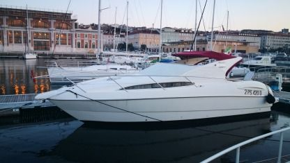 Rental Motorboat Gobbi Atlantis 365 375 Sc Trieste