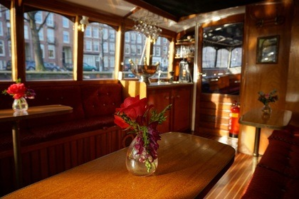 Hire Motorboat Custom Luxe Salonboot - Mona Lisa Amsterdam