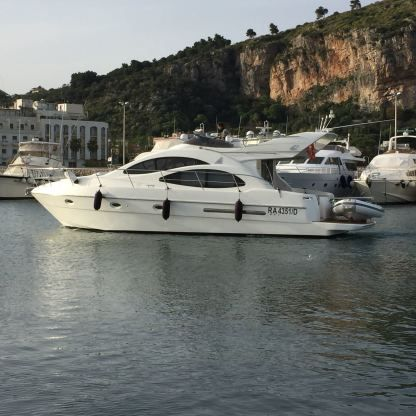 Rental Motorboat Azimut 42 Terracina