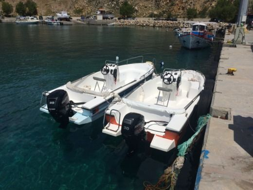 Motorboat Mare 5.5M 30Hp for hire