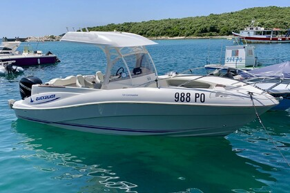 Rental Motorboat QUICKSILVER 720 COMMANDER Vrsar