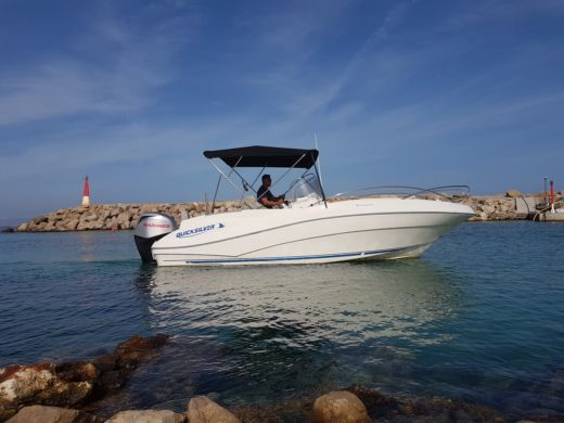Alquiler Lancha Quicksilver Commander 635 Can Picafort