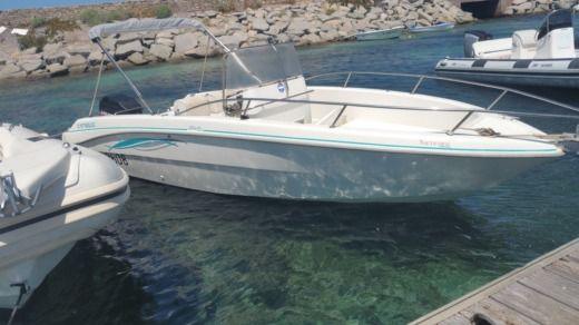 Fiart Mare Oasis 22 in Saint-Florent for hire
