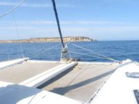 Rental catamaran in Sliema