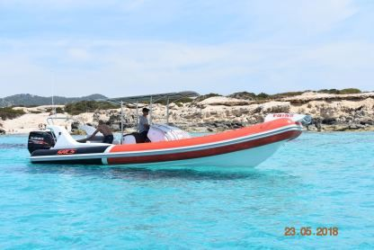 Location Semi-rigide Sacs Marine Samurai 870 Ibiza