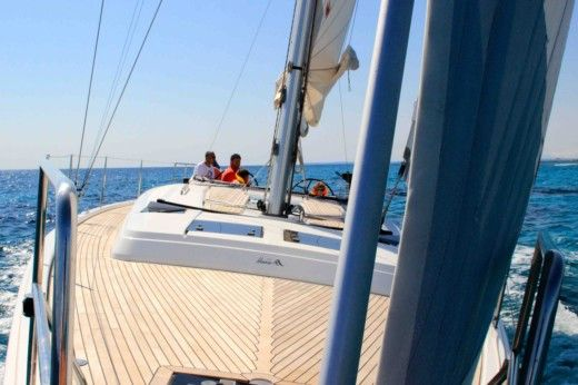 Hanse 445 in Menorca for hire