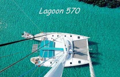 Location Catamaran Lagoon Lagoon 570 Pointe-à-Pitre