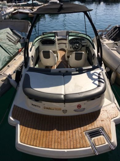 Miete Motorboot Sea Ray 185 Sport Nizza