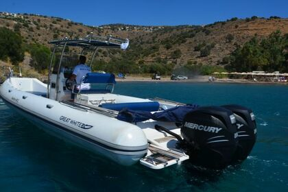 Rental RIB Great White Faethon 900 Athens