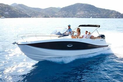 Hire Motorboat Quicksilver Activ 755 Sundeck Rab