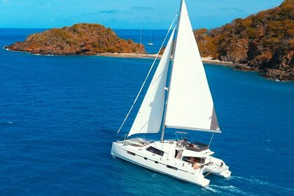 Hire Catamaran NAUTITECH Fly 46 Road Town