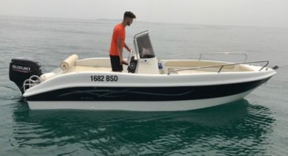 Rental Motorboat As Marine 530 Moniga del Garda