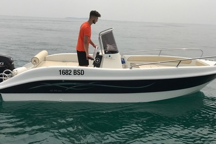 Miete Motorboot AS Marine 530 Moniga del Garda
