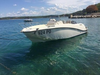 Rental Motorboat Quicksilver 535 Poreč