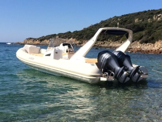 RIB CAPELLI Tempest 1000 Sun for hire