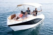 Okiboats Barracuda 545 in Novi Vinodolski for hire