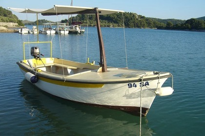 Rental Motorboat Custom Pasara Zaglav