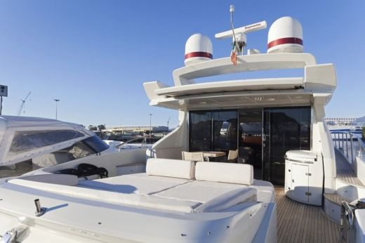 Azimut 68S in Ibiza for hire