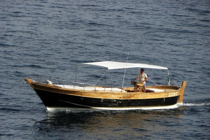 Hire Motorboat Gozzo Fox Run Amalfi