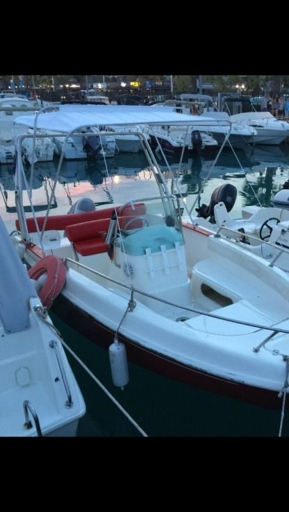Location Bateau à moteur Marinello Fisherman 16 Saint-Laurent-du-Var