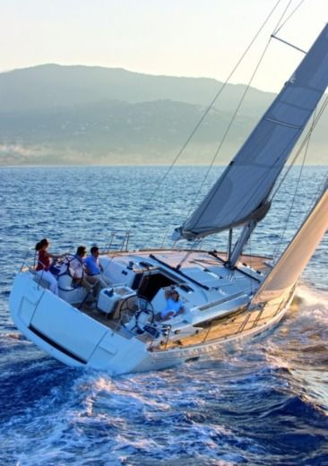 Charter sailboat in Skiathos