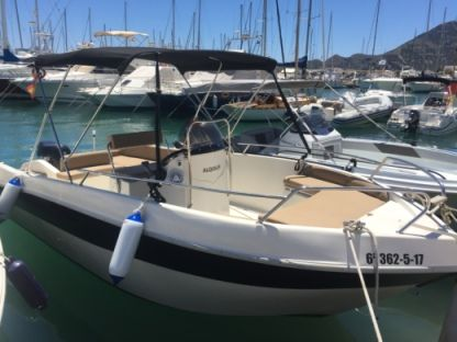 Rental Motorboat Shiren 22 Cc Altea