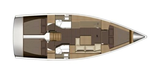 Voilier Avanti - Dufour 382 Grand Large (3 Cabins, 2 Heads, From 2017) à louer