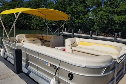 Miete Motorboot Sweetwater  Pontoon Sweetwater 2486 Miami