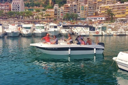 Rental Motorboat SHIREN 22 OPEN (L1) Blanes
