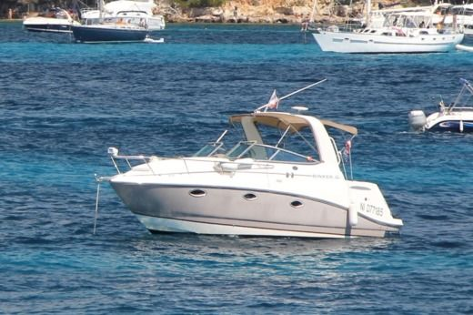 Alquiler Lancha Rinker 260 Express Cruiser Cannes