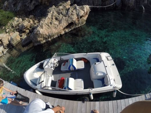 Charter motorboat in Ibiza, Balearic Islands peer-to-peer