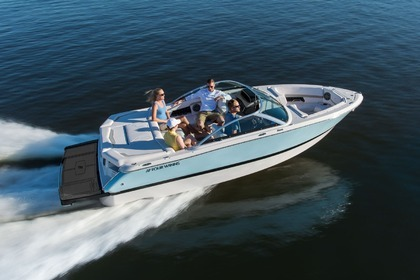 Hire Motorboat Four Winns 210 South Lake Tahoe