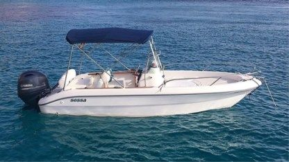 Rental Motorboat Sessa Marine Key Largo 19 Malinska