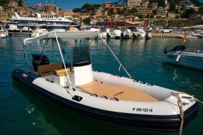 Location Semi-rigide Tarpon 590 Port de Sóller