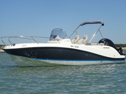 Rental Motorboat Quicksilver Activ 605 Open Les Mathes