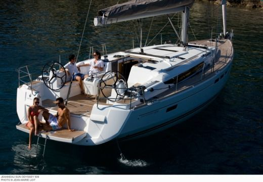 Jeanneau Sun Odyssey 509 in Malta for hire