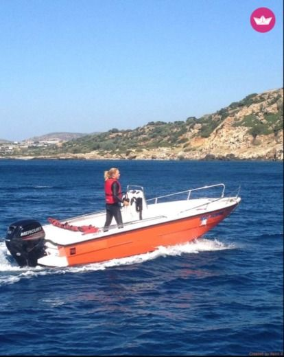 Motorboat Mare 5.5M 80Hp peer-to-peer