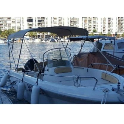 Rental Motorboat Saver Saver 550 Open Zadar